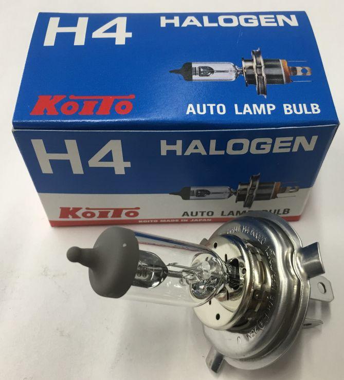 Лампа Н4 12V (60/55W)  стандарт Koito 0456E