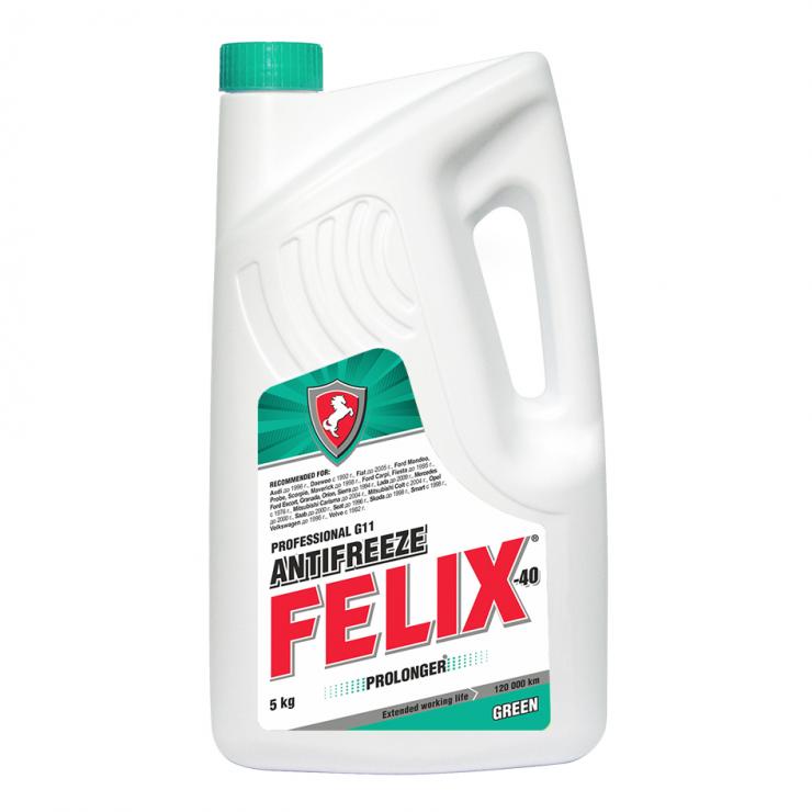 Антифриз Felix зелёный 5л