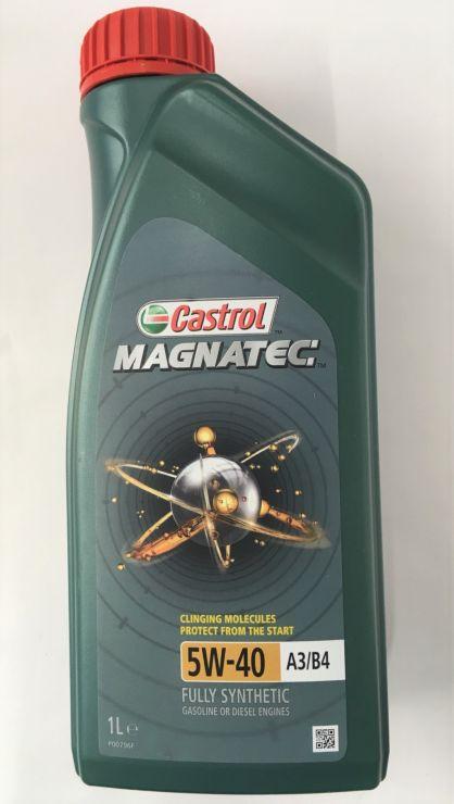 Масло моторное Castrol Magnatec 5W40 A3/B4 1л