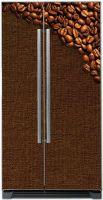 Наклейка на холодильник - Кофе 6 Темная обжарка | магазин Интерьерные наклейки