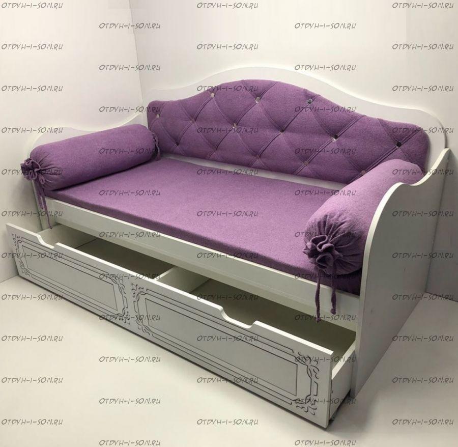 Кровать Ноктюрн с мягкой спинкой