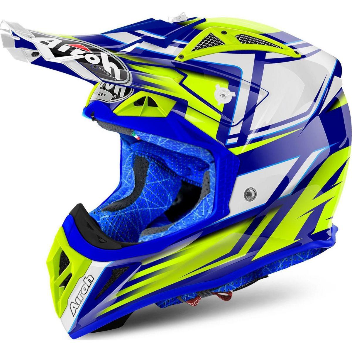 Airoh - Aviator 2.2 Restyle Yellow шлем, желтый