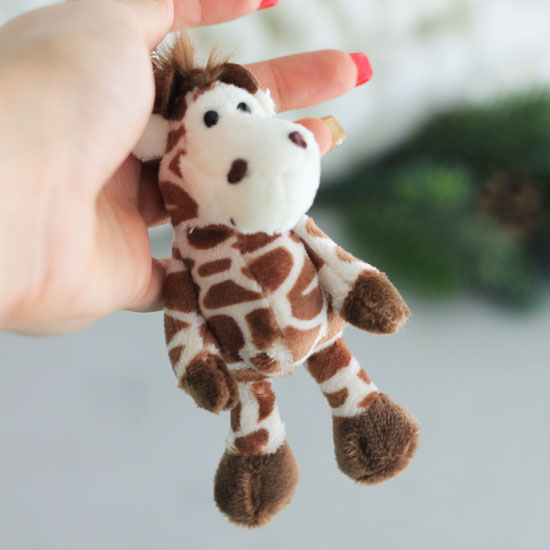 Жираф для куклы, 11 см