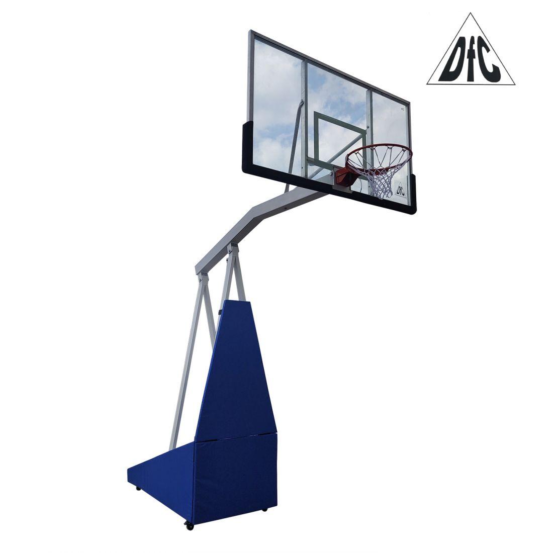 Мобильная баскетбольная стойка клубного уровня STAND72G PRO
