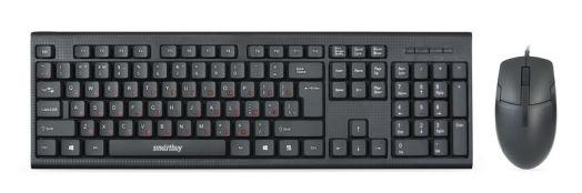 Проводной комплект клавиатура+мышь Smartbuy SBC-227367 черный