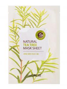 """""""СМ"""" Natural Tea Tree Mask Sheet Маска тканевая с экстрактом чайного дерева 21мл"""