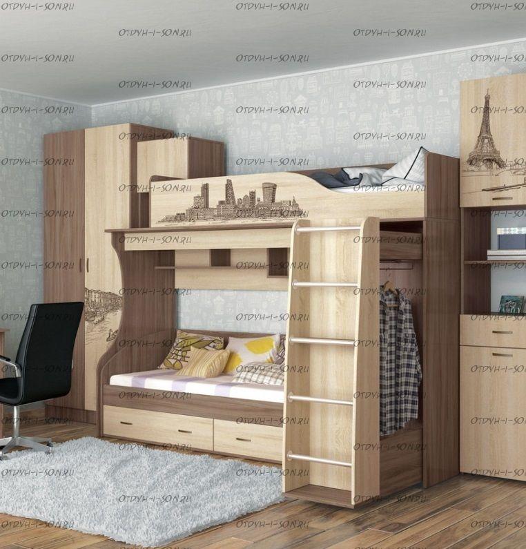 Кровать двухъярусная Орион