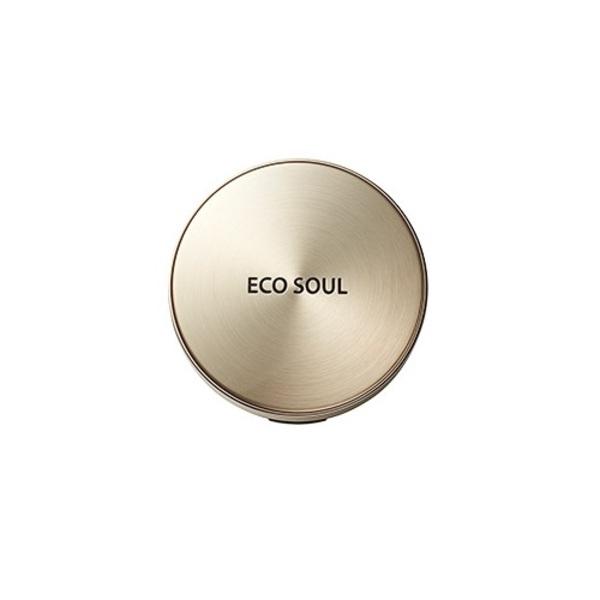 Пудра компактная золотая Saem Eco Soul Luxury Gold Pact 9гр