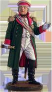Генерал-фельдмаршал князь М.И. Голенищев-Кутузов. Россия, 1812 г. цветной