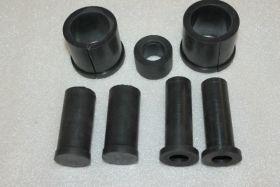 Комплект резиновых деталей коляски мотоцикла иж49-56 (7деталей)