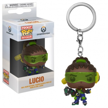 Брелок Funko Pocket POP! Keychain: Overwatch: Lucio 32796-PDQ