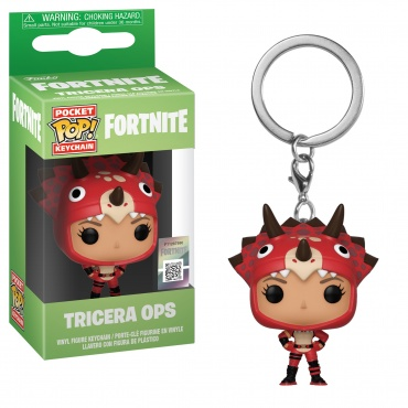 Брелок Funko Pocket POP! Keychain: Fortnite S2: Tricera Ops Keychain 4 35716-PDQ
