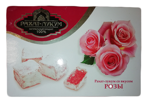 Рахат-лукум со вкусом розы, 250г
