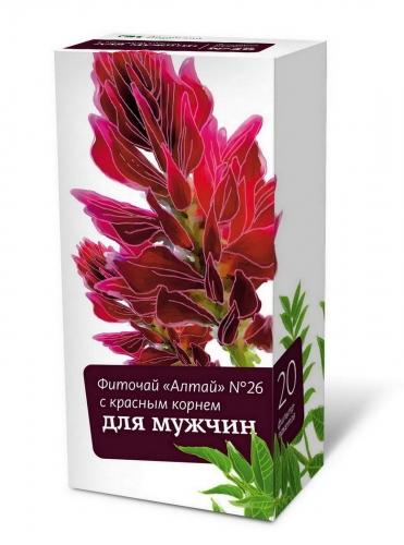 Фиточай «Алтай» №26 «С красным корнем. Для мужчин»