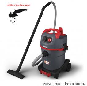 Пылесос профессиональный для работы с электроинструментом, сухой и влажной уборки Starmix uClean ADL-1432 EHP 1,4 кВт 32л 016313