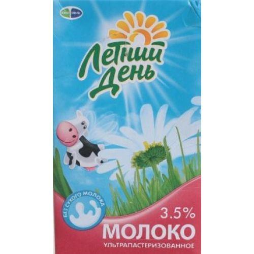 Молоко Летний День ультрапаст  0.95 Жирность 3,5%