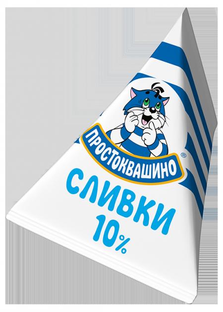 Сливки Простоквашино О 10% 0,020