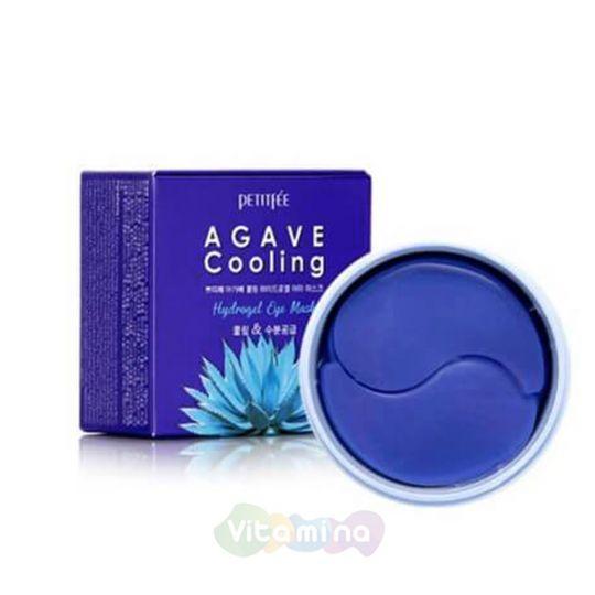 Petitfee Гидрогелевые патчи для глаз с экстрактом агавы Agave Cooling Hydrogel Eye Mask