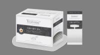 TEATONE Earl grey tea, упаковка 150 шт.