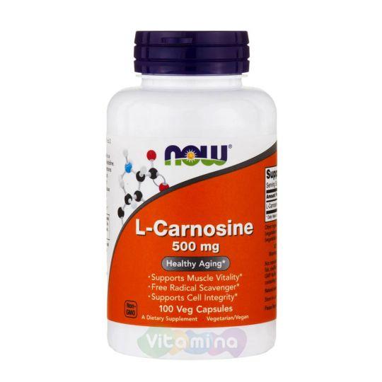 L-Carnosine (L-Карнозин) 50,100 капс.