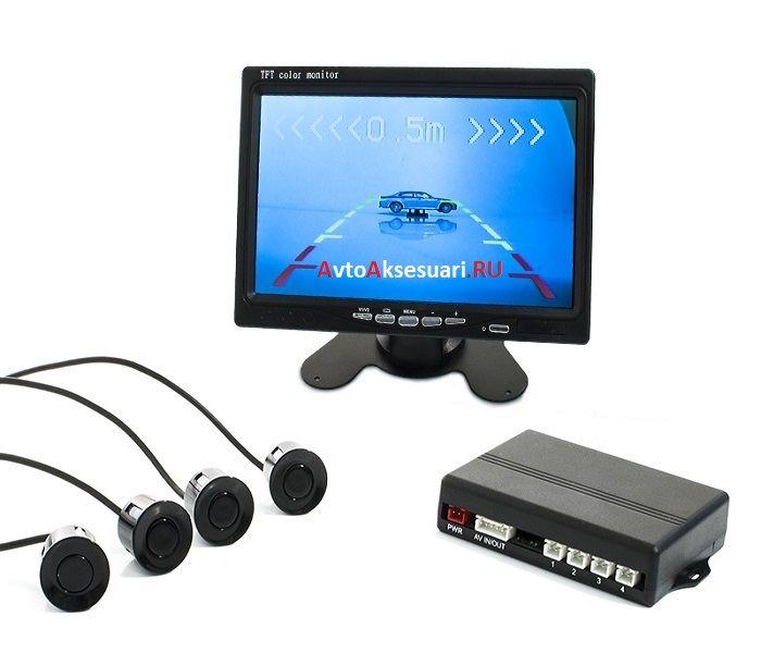 Видеопарктроник 4 датчика PZ800