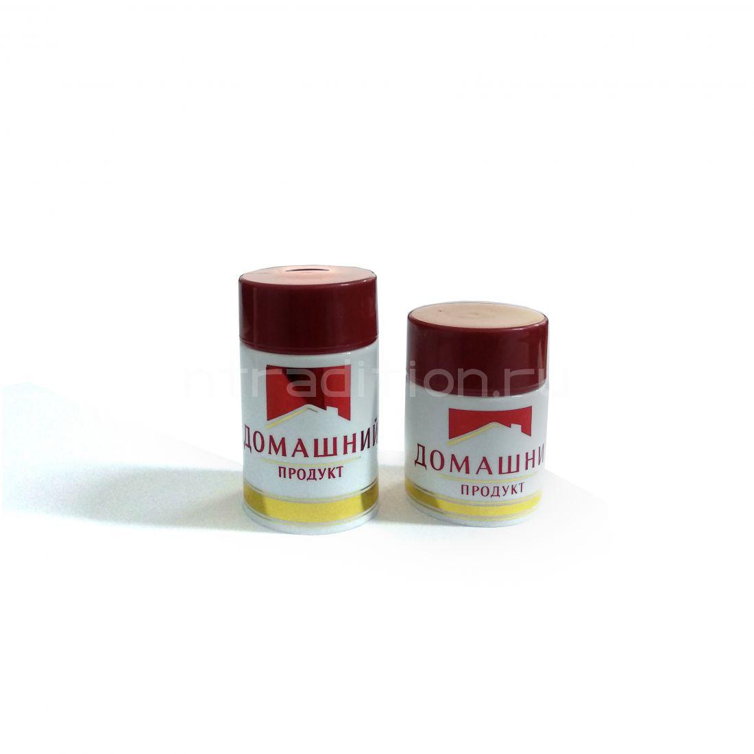 Колпачок с дозатором Домашний продукт бордовый (Гуала 58 мм) / 10 шт