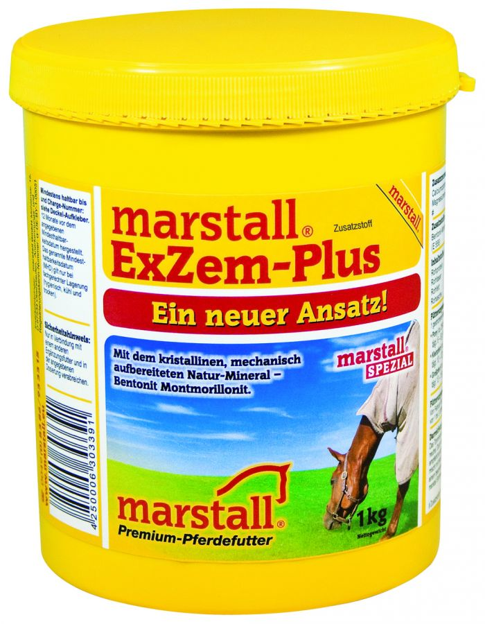 EXZEM-PLUS / ЭКЗЕМ-ПЛЮС, лечебная подкормка для лошадей 1 кг Marstall