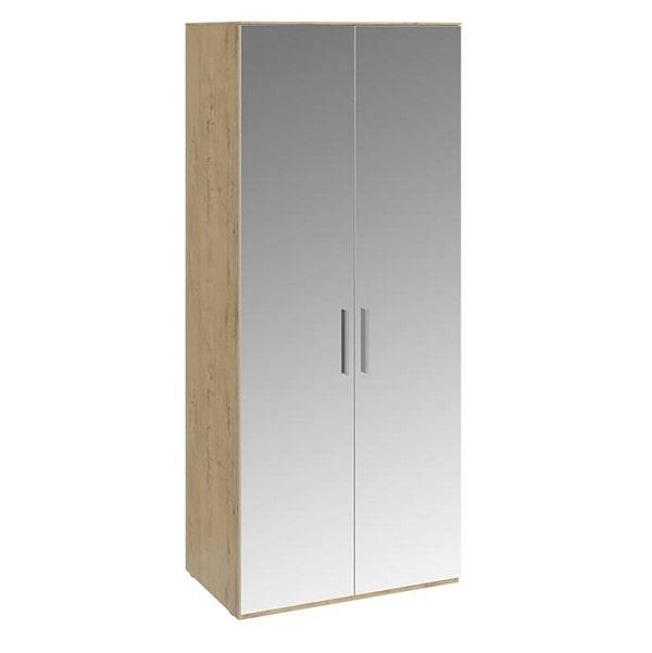 Шкаф для одежды «Николь» с 2-мя зеркальными дверями