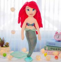 Кукла Русалочка Ариэль плюшевая 60 см