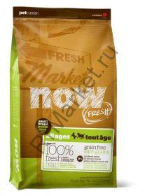 Беззерновой корм для собак Малых пород Всех возрастов с Индейкой, Уткой и овощами (Fresh Small Breed Recipe Grain Free)