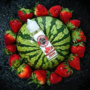 Е-жидкость Barista Brew Strawberry Watermelon Refresher, 60 мл.