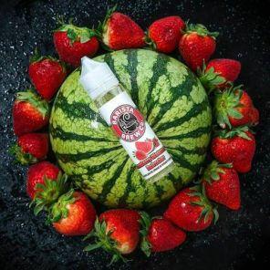 Е-жидкость Barista Brew Strawberry Watermelon Refresher, 60 мл.