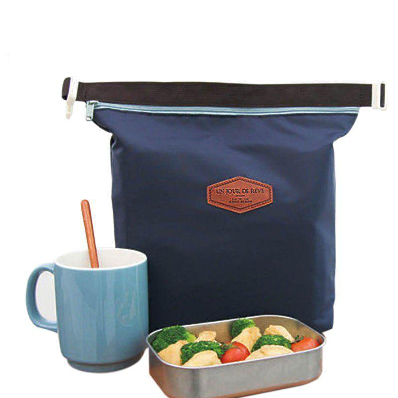 Сумка-термос для обедов Iconic Lunch Pouch, цвет синий