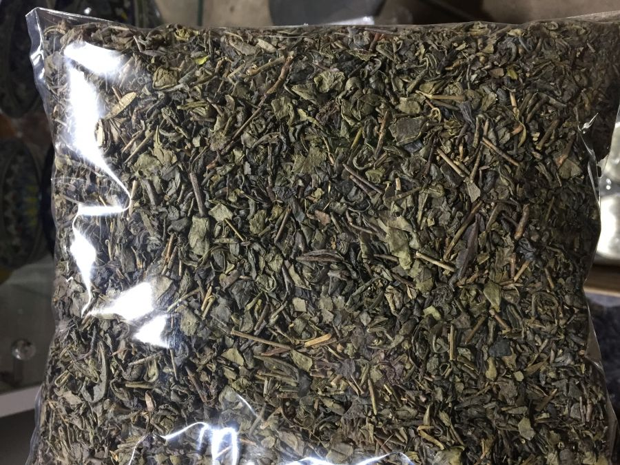 Чай зеленый узбекский 95 уп 100гр