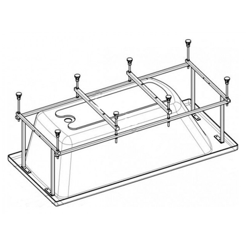 Монтажный комплект к акриловой ванне ROCA SURESTE ZRU9302771 170х70 см