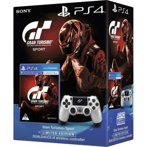Sony Dualshock 4 V2 Limited Edition Gran Turismo Sport + Игра Gran  Turismo: Sport (PS4)