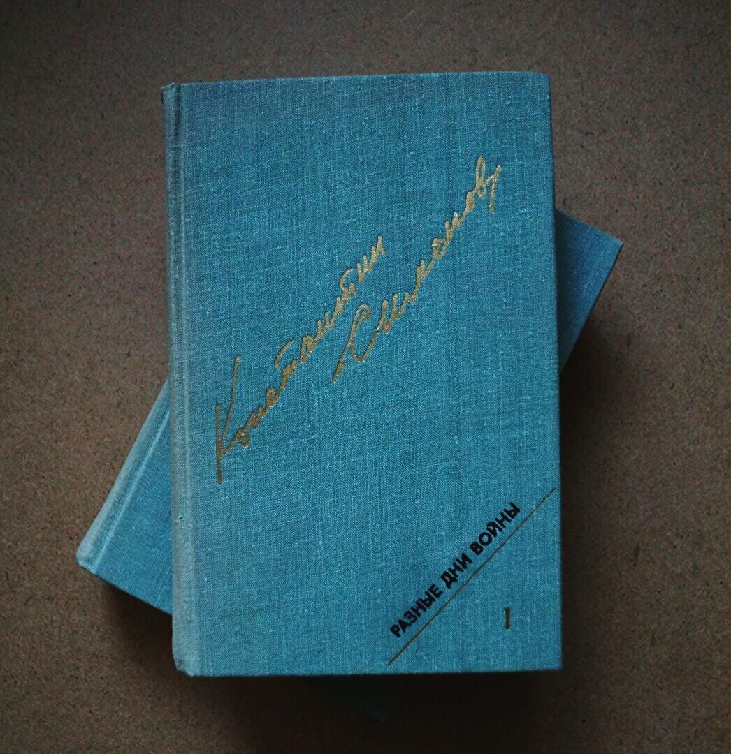 Константин Симонов - Разные дни войны (2 тома)