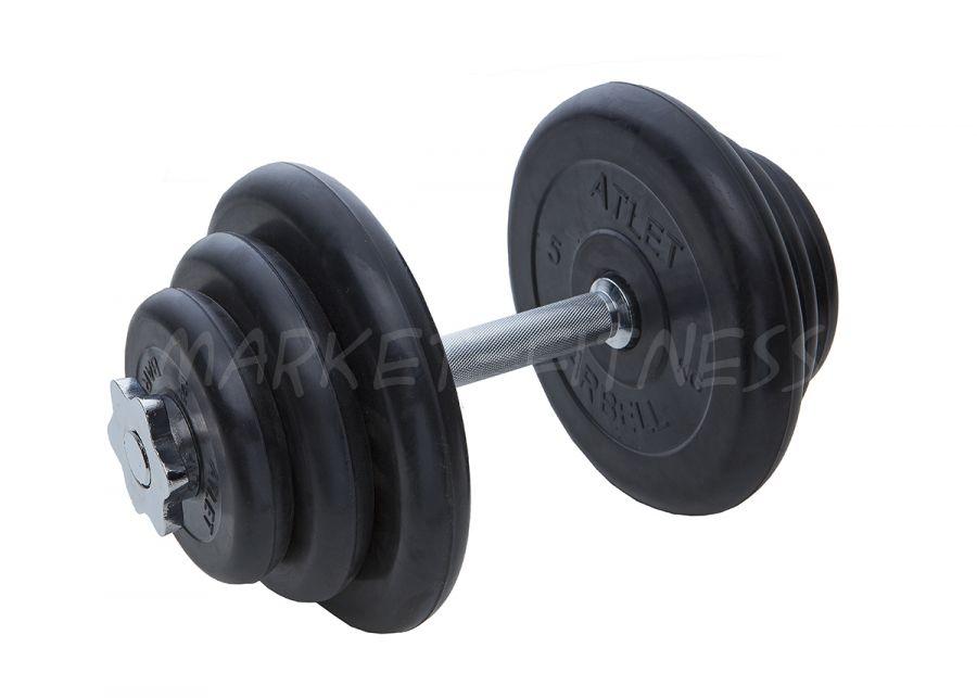 Гантель MB Barbell Atlet d.25мм 20кг