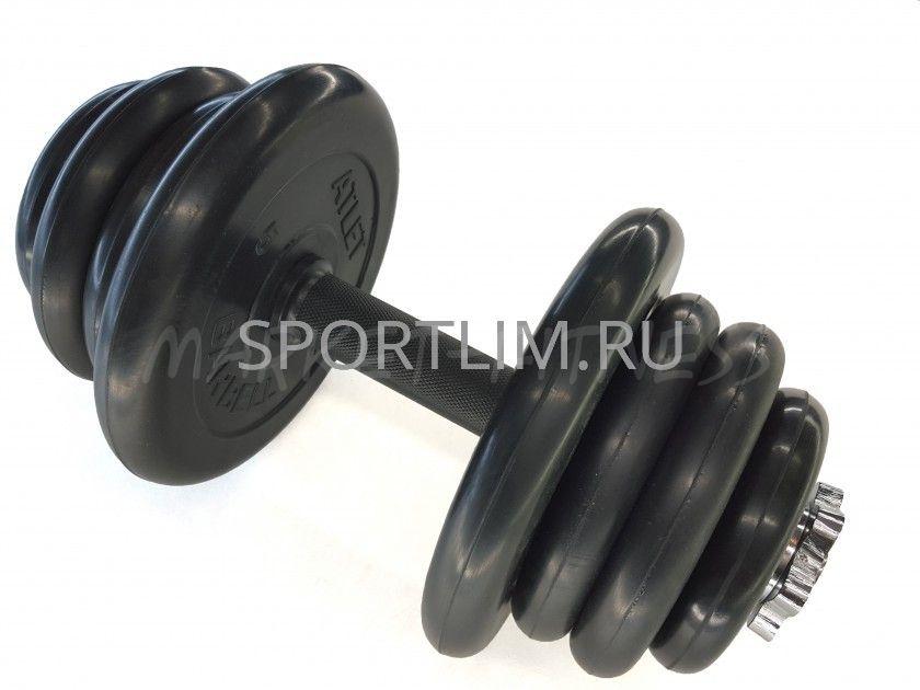 Гантель MB Barbell Atlet d.25мм 25 кг