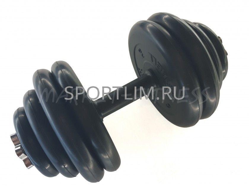 Гантель MB Barbell Atlet d.25мм 30 кг