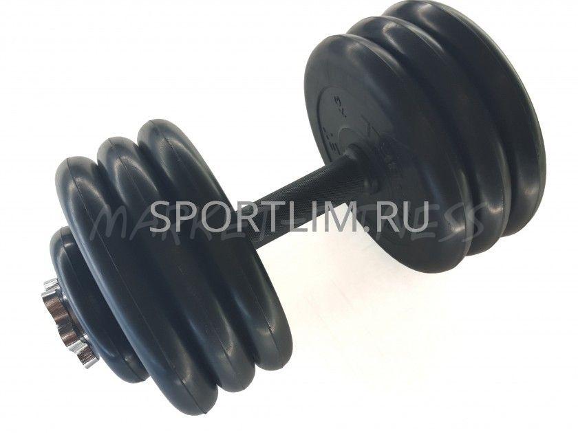 Гантель MB Barbell Atlet d.25мм 35 кг