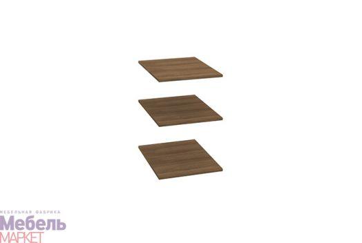 Спальня Берта 1 - Комплект полок для пенала (ясень шимо тёмный)