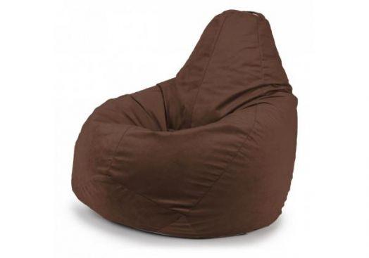 """Кресло мешок """"Vellut Brown"""""""
