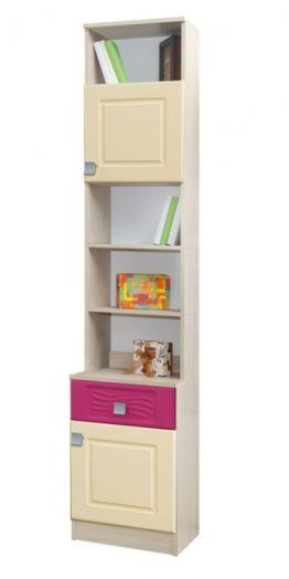 Акварель шкаф книжный 0,4 №5 молодёжная
