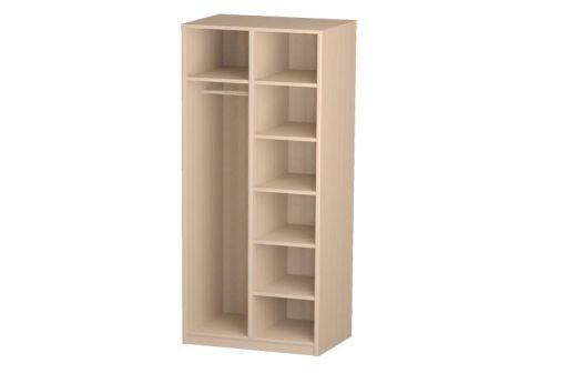 Шкаф для одежды 06.55 (каркас) модульная спальня Розалия