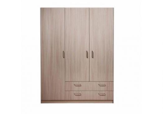Шкаф 3х-дверный без зеркала 5.14 ЭКО