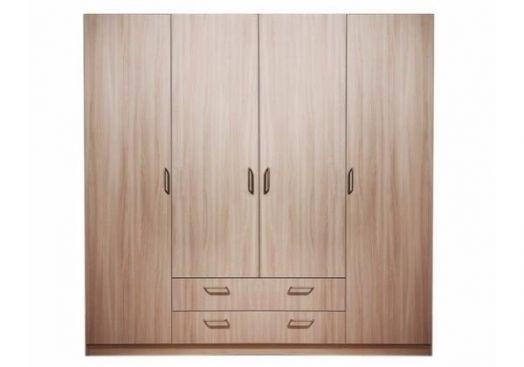 Шкаф 4з-дверный без зеркал 5.15 ЭКО