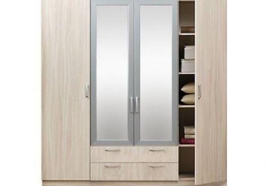 Шкаф 4х-дверный с зеркалами 5.15Z ЭКО