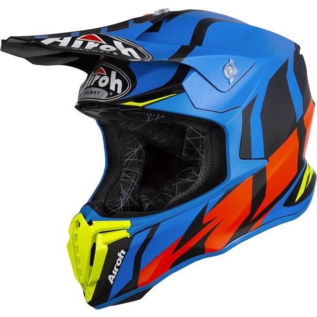 Airoh - Twist Great Blue Matt шлем, синий матовый