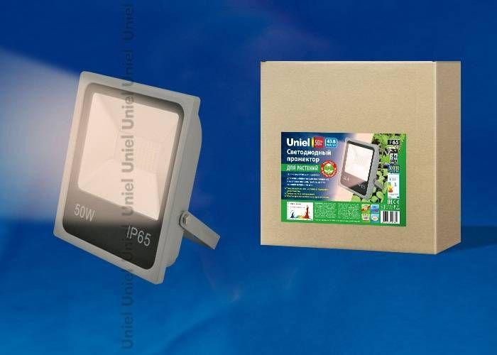 Светильник для растений Uniel 50W ULF-P40-50W/SPFR IP65